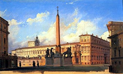 File:Caffi, Ippolito - La Piazza di Monte Cavallo - 1847.jpg