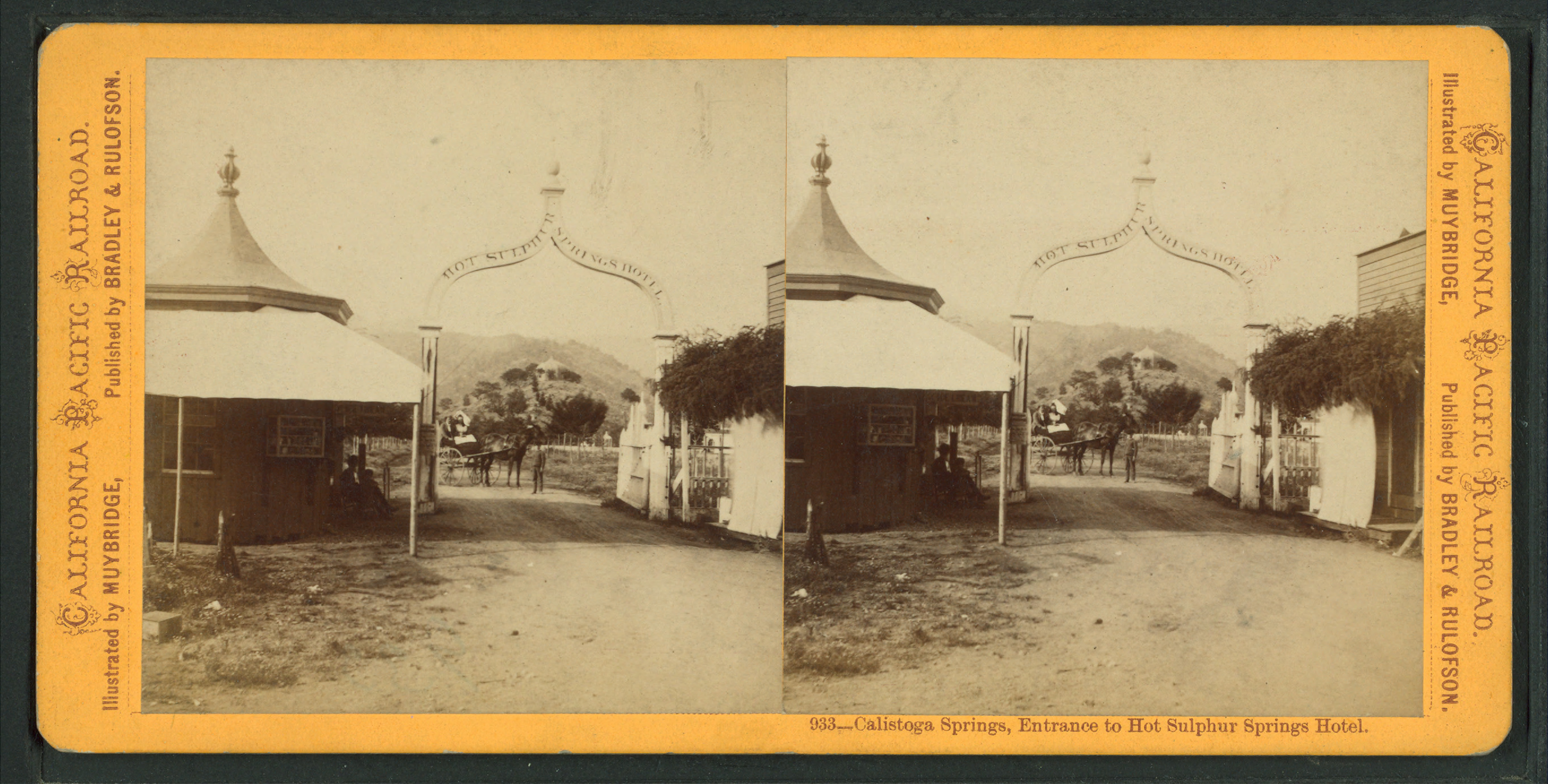 File Calistoga Springs Entrance To Hot Sulphur Hotel By Muybridge Eadweard