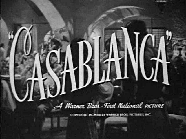 Casablanca Font Filecasablanca, titlejpg