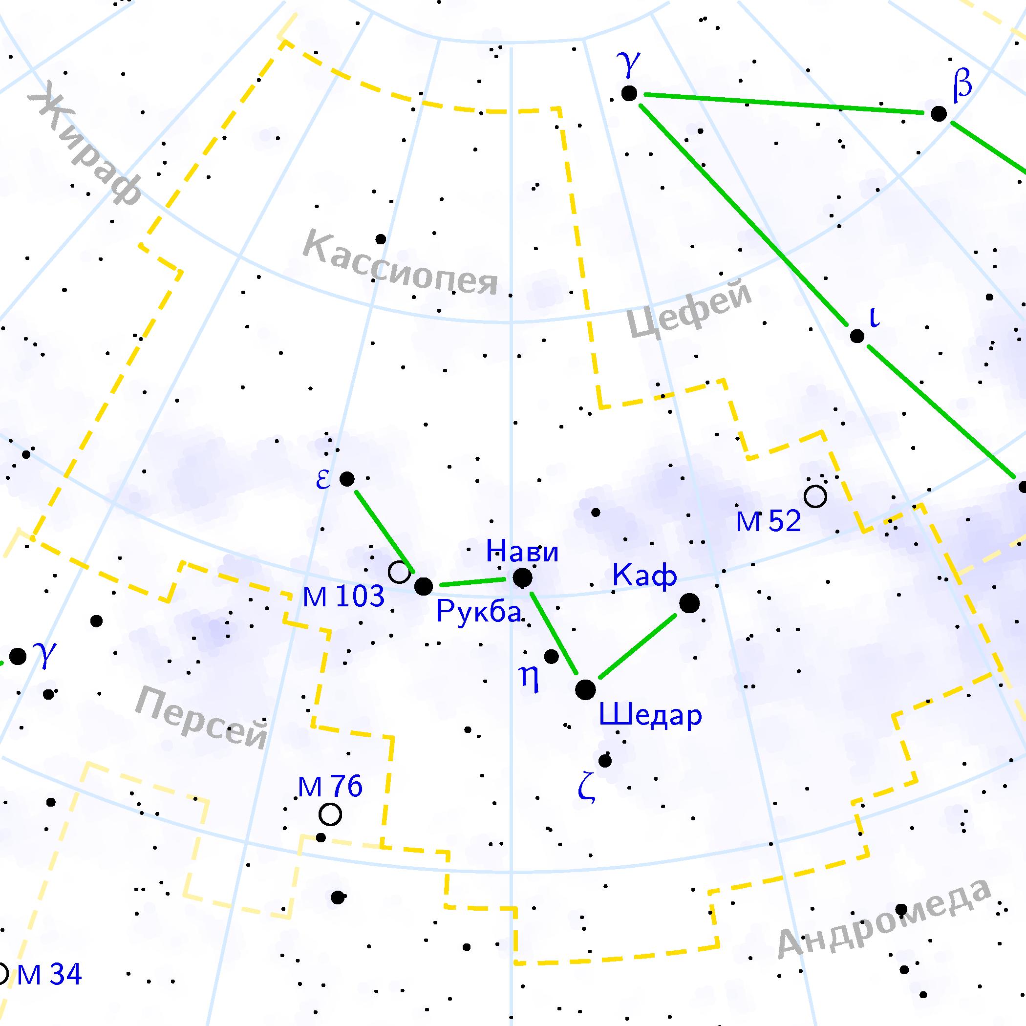 Реферат на тему созвездие кассиопея 3407