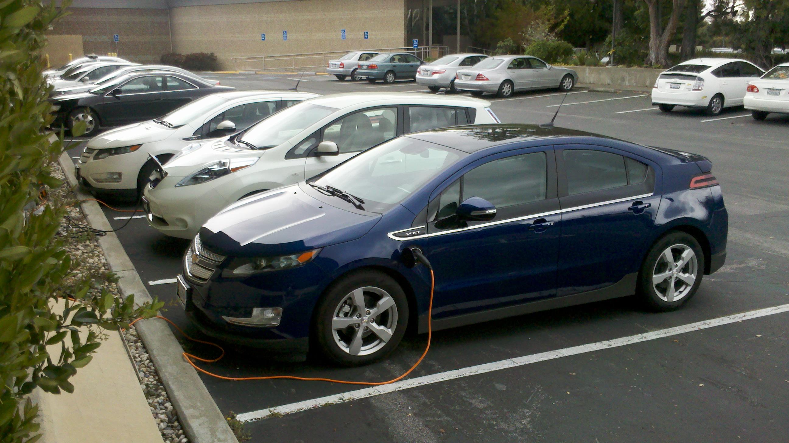 K Chevrolet Electric Car