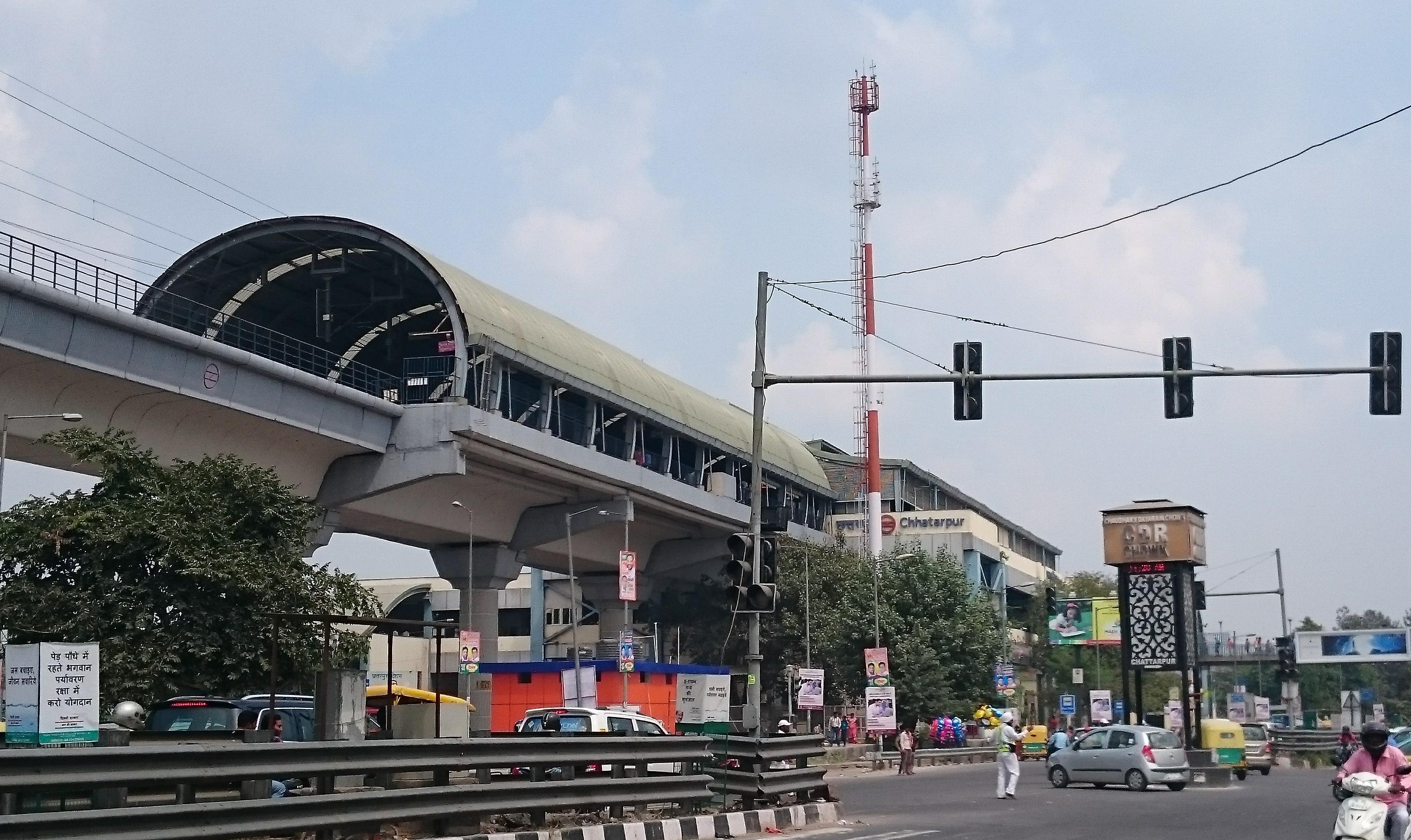 Organizational Chart Of Nike: Chhatarpur metro station - Wikipedia,Chart