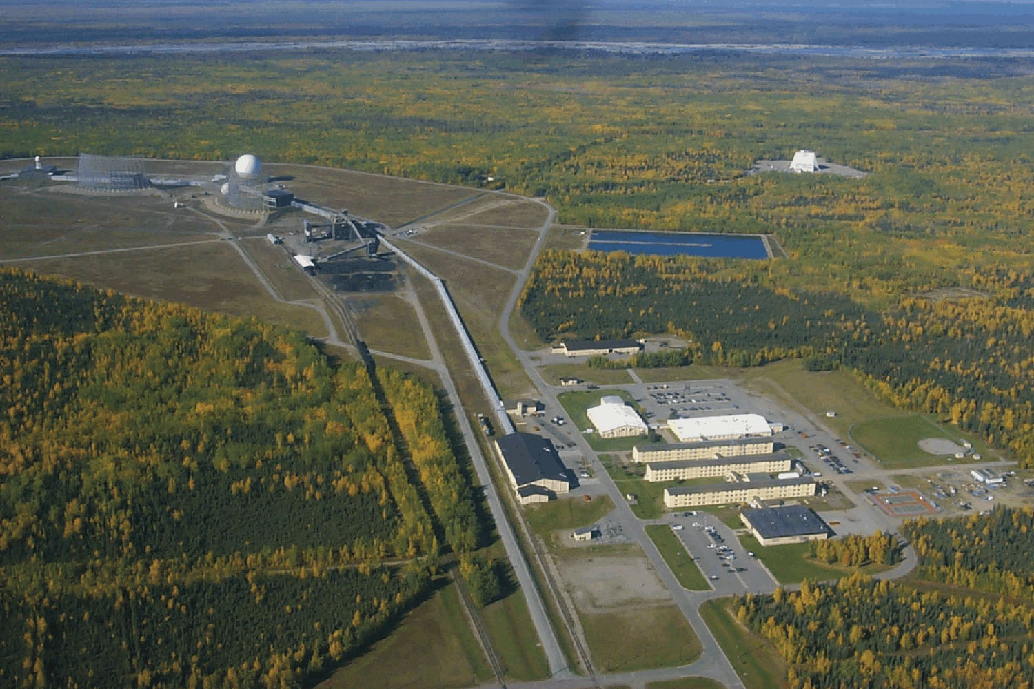 Clear Air Force Station - Wikipedia