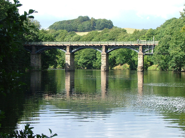 Crook-of-Lune West Viaduct - geograph.org.uk - 47068