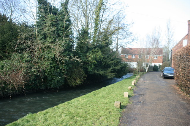 Darent Valley Path along the River Darent, Otford - geograph.org.uk - 1724909