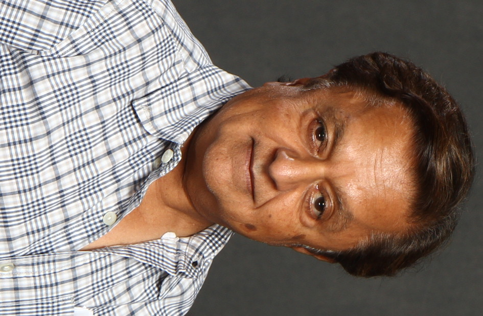 The 60-year old son of father (?) and mother(?) Deep Roy in 2018 photo. Deep Roy earned a  million dollar salary - leaving the net worth at 1 million in 2018
