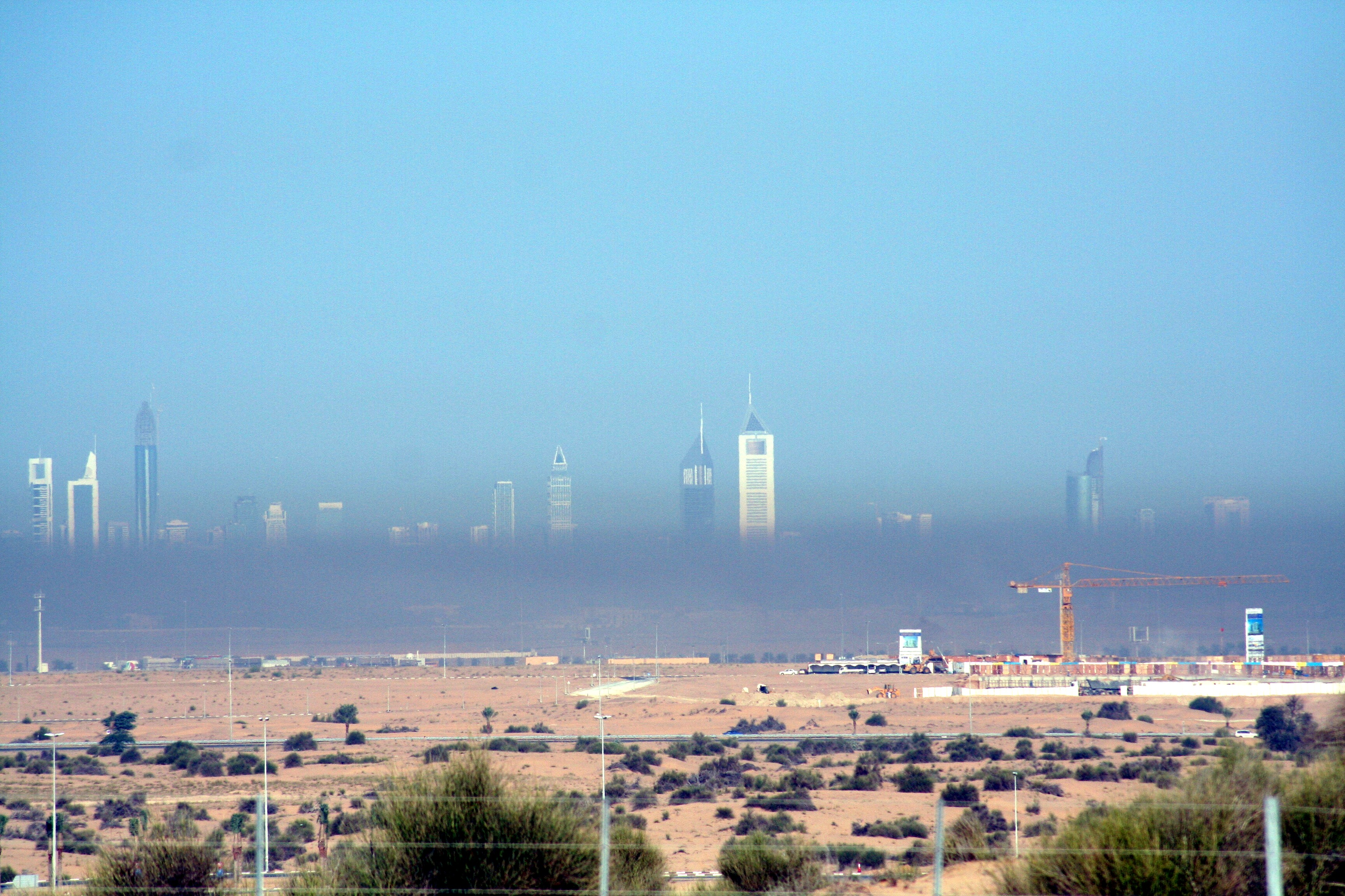 Znečistenie vzduchu v Dubaji