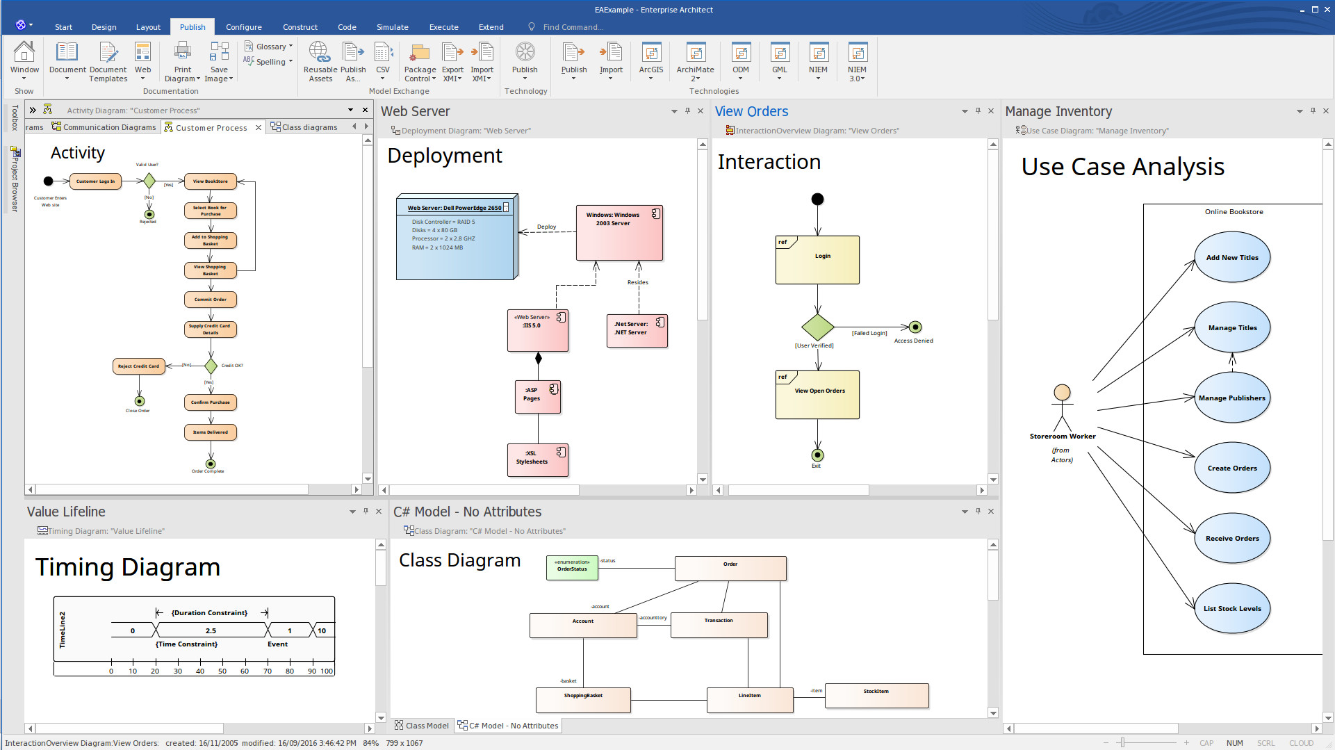 Simulation In Enterprise Architect