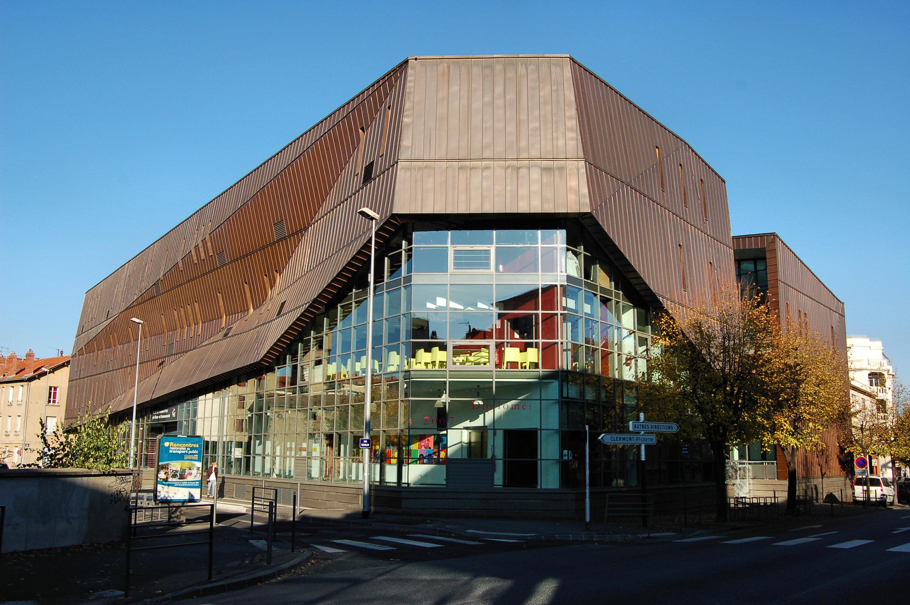 École D Architecture Clermont École supérieure d'art de clermont métropole - wikipedia