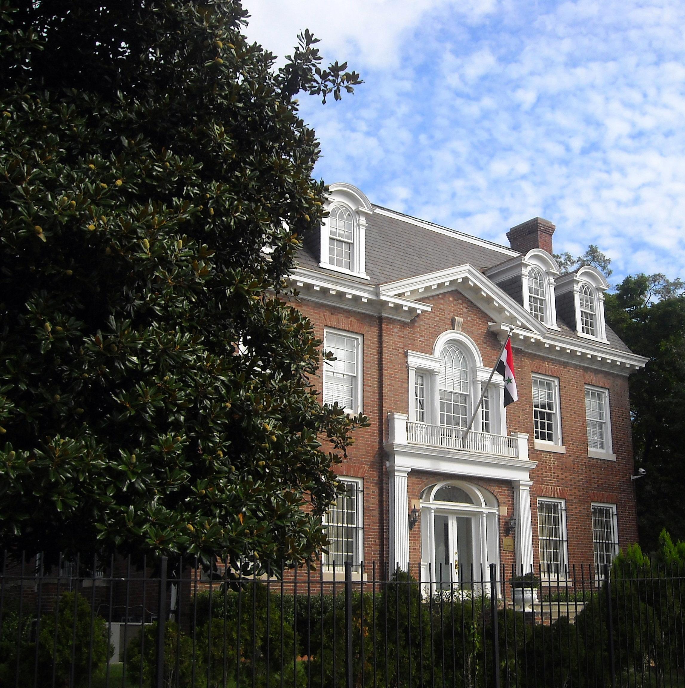 Embassy of Syria, Washington, D C  - Wikipedia