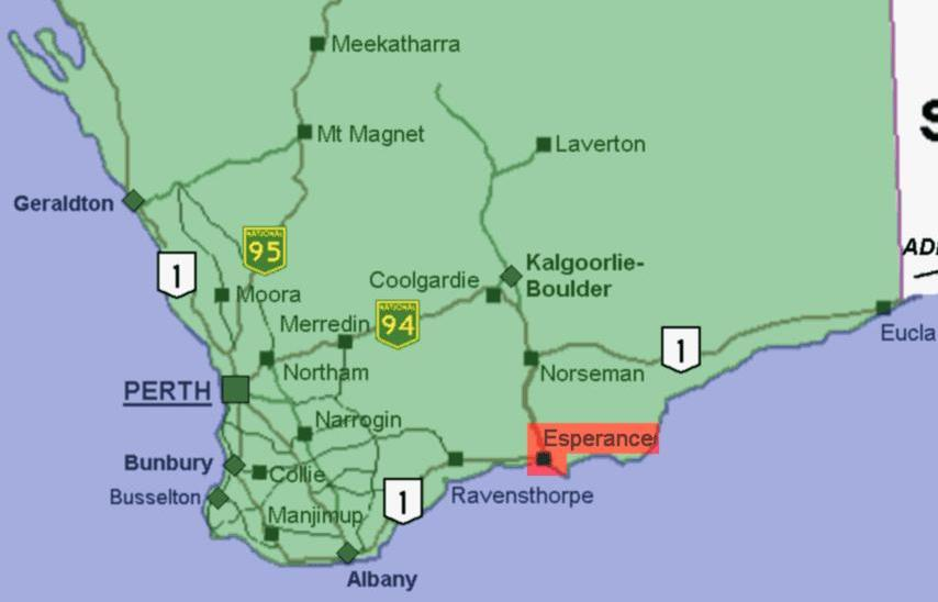 Carte Australie Esperance.Fichier Esperance1 Jpg Wikipedia