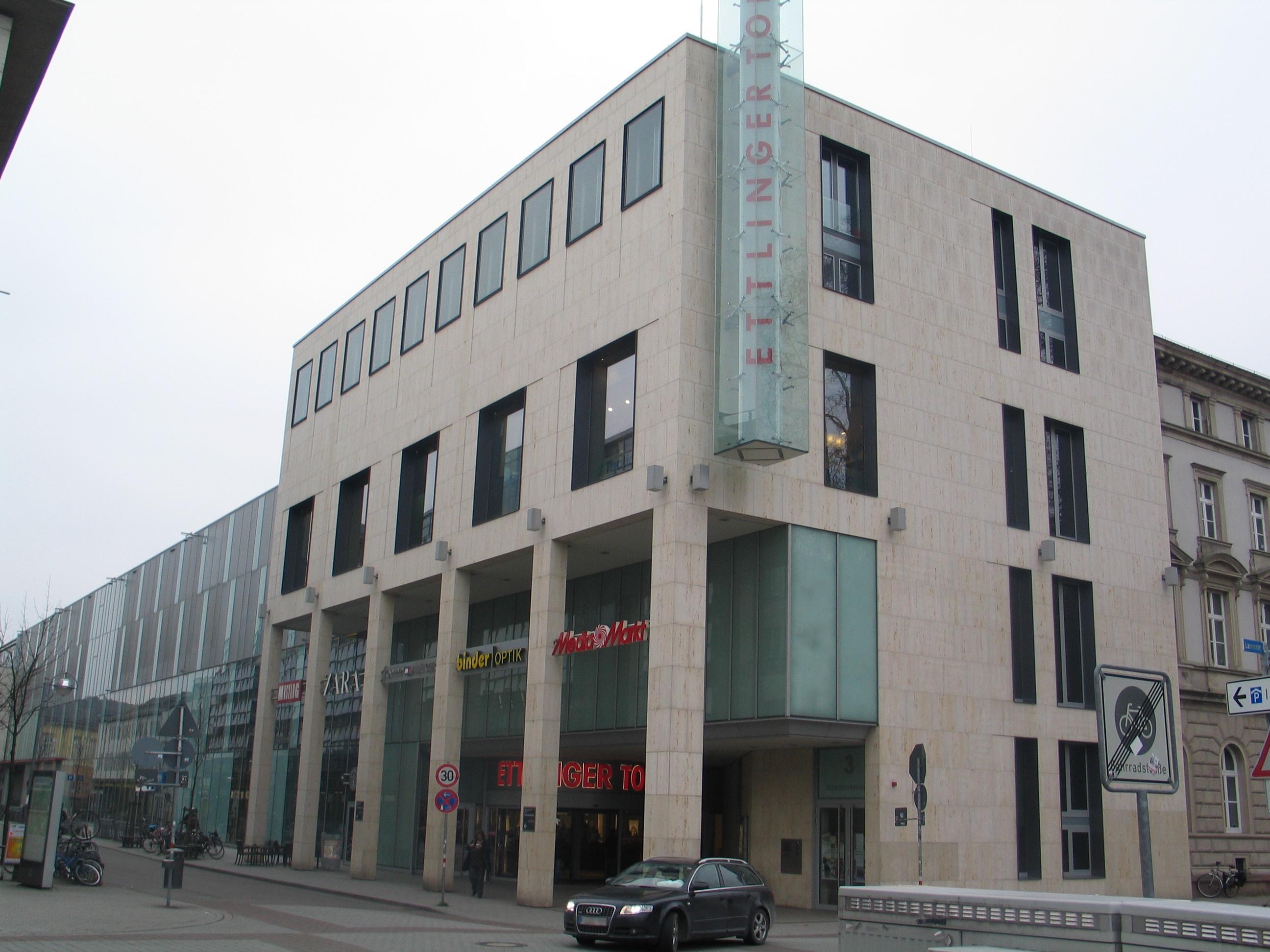Ettlinger Tor Karlsruhe