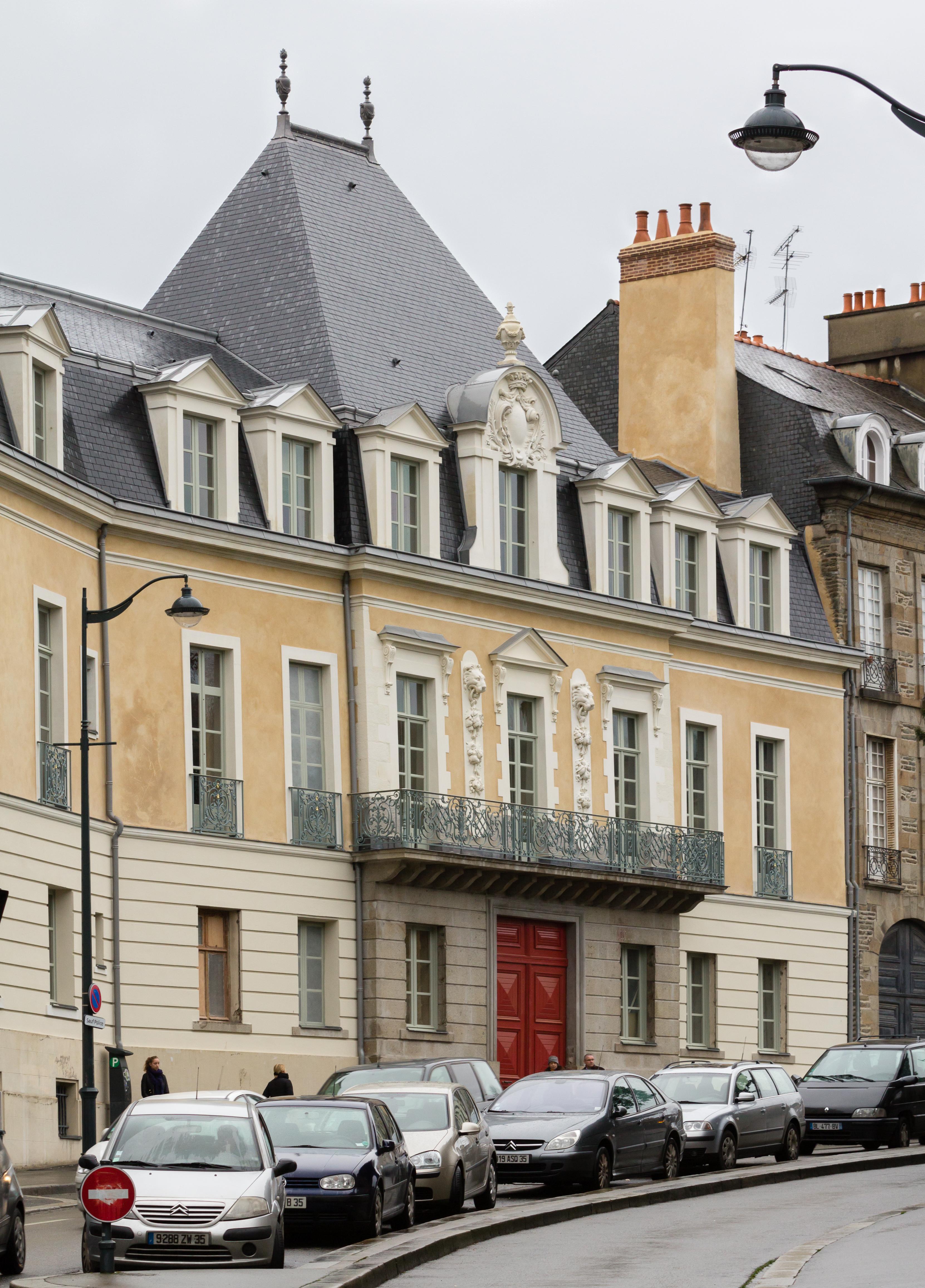 Fichier fa ade du tribunal administratif rennes france for Restaurant o 23 rennes