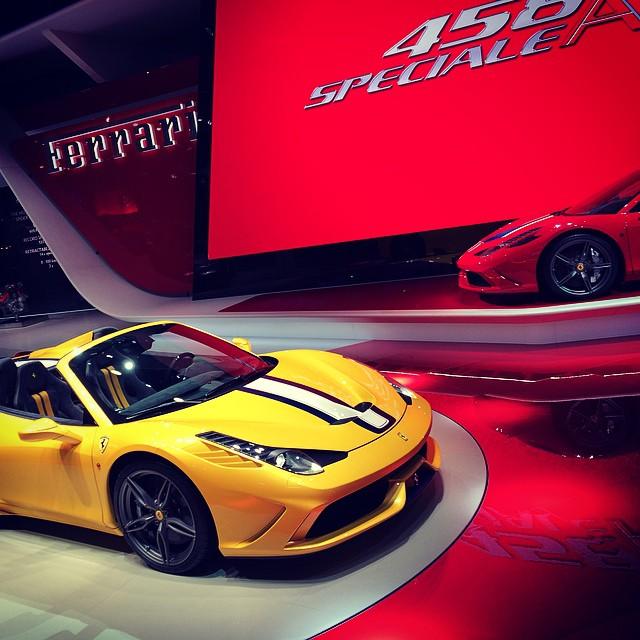 2014 Ferrari 458 Speciale Transmission: File:Ferrari 458 Speciale A, 2014 Paris Motor Show.jpg