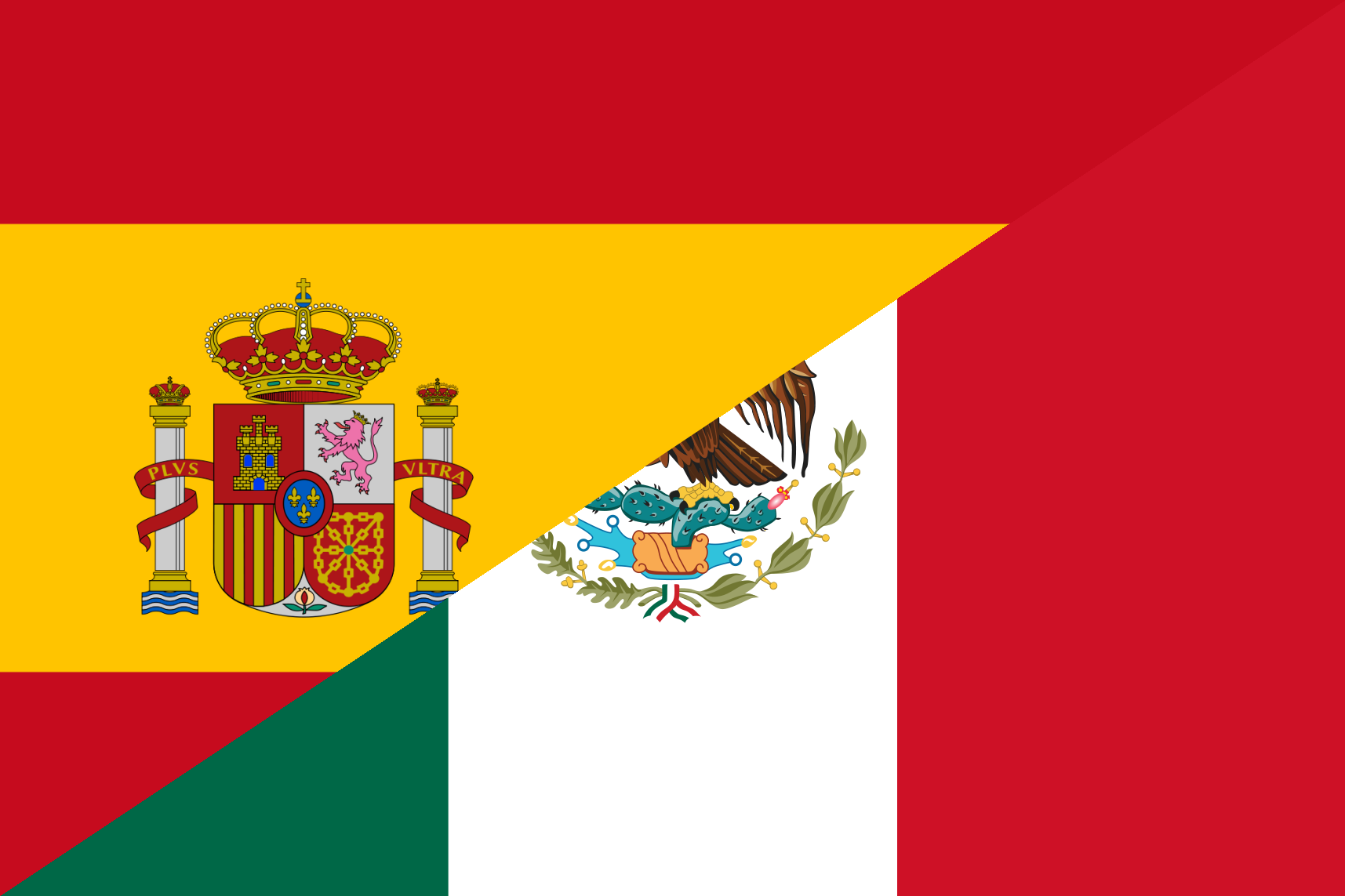 file flag of spain and mexico png wikimedia commons