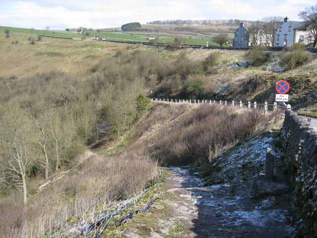 Footpath to Monsal Dale from Monsal Head - geograph.org.uk - 756337