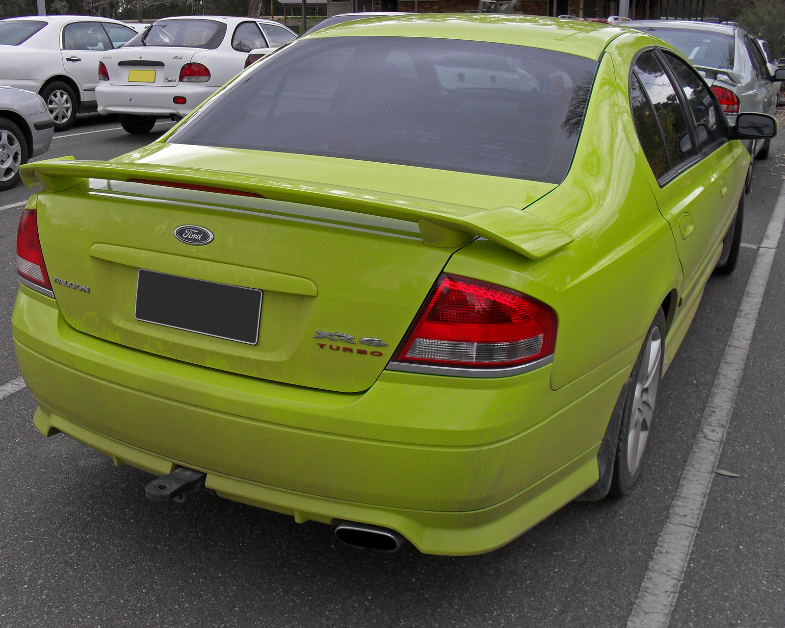 ford falcon ba xr6 turbo specifications. Black Bedroom Furniture Sets. Home Design Ideas