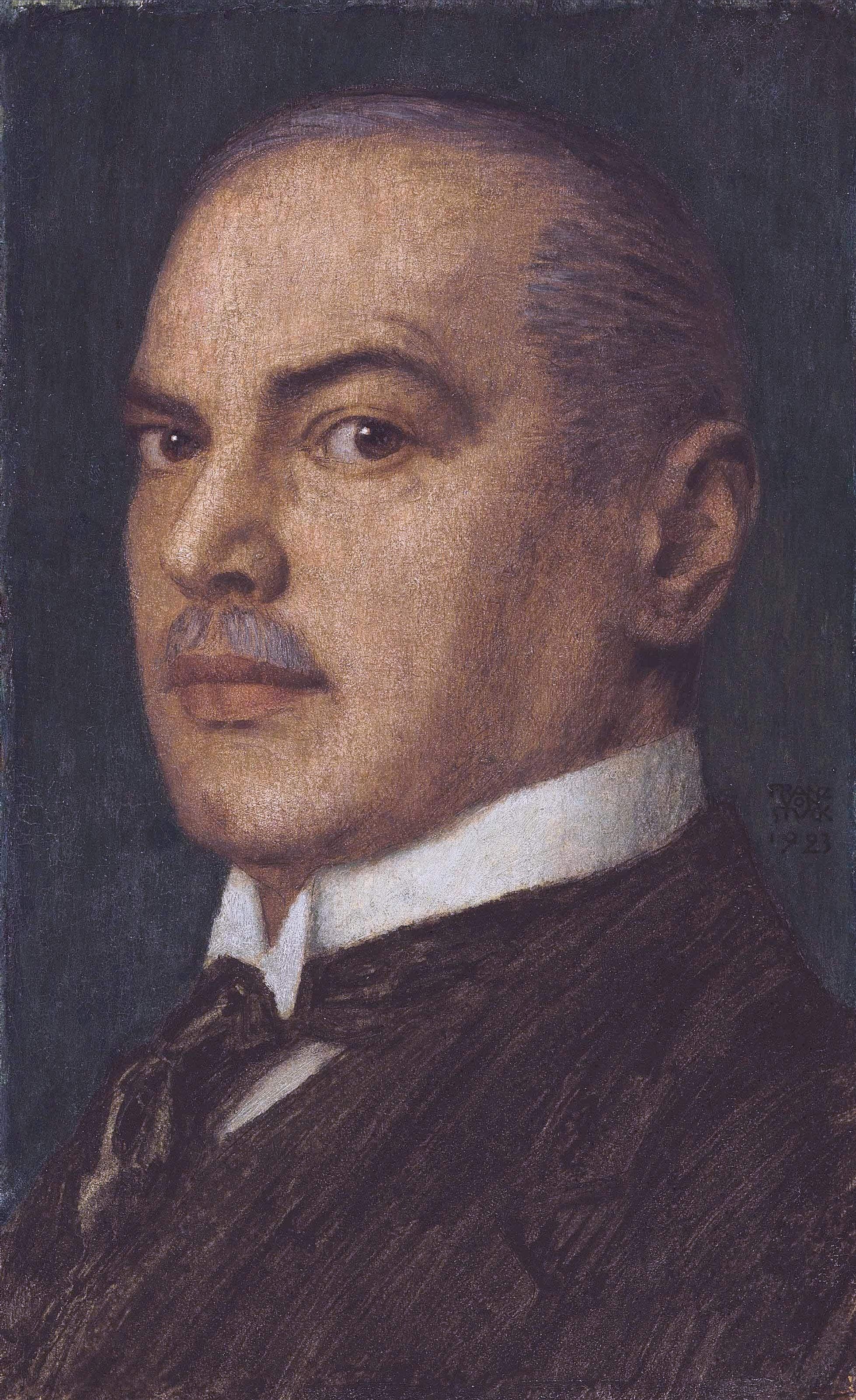 Image of Franz von Stück from Wikidata