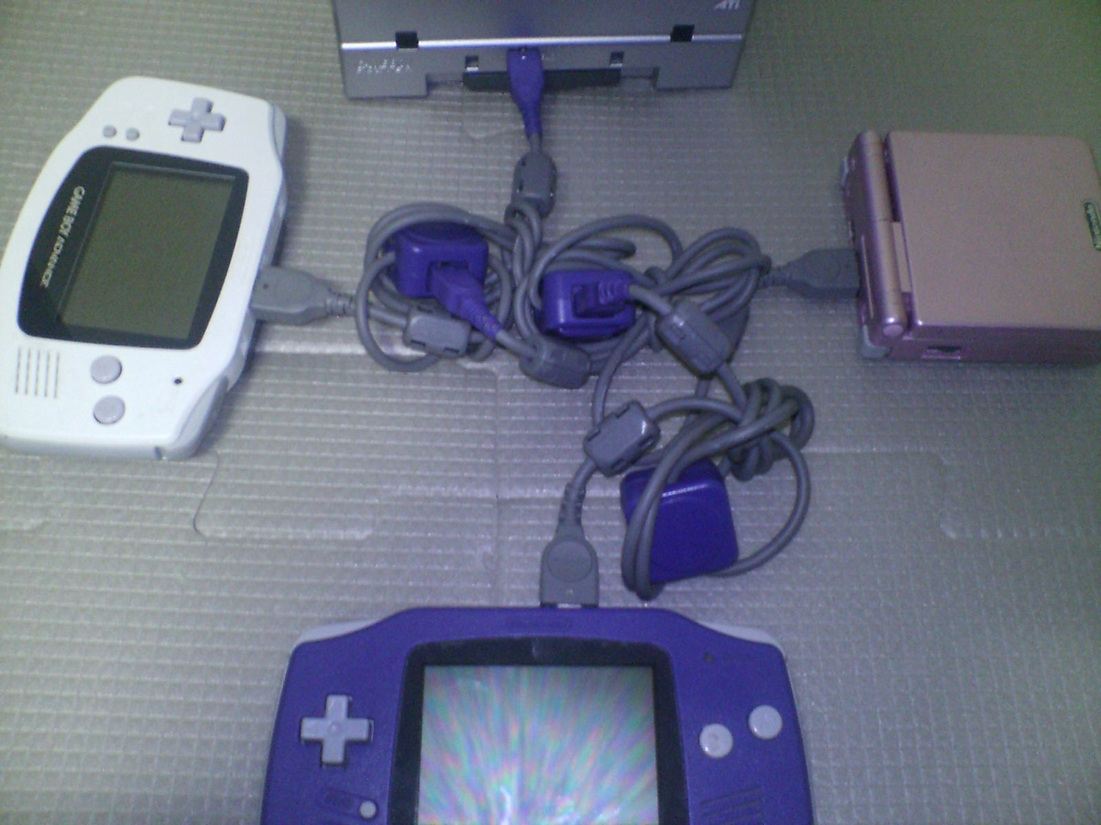 Game boy color link cable - File Gba 4pconnection Jpg