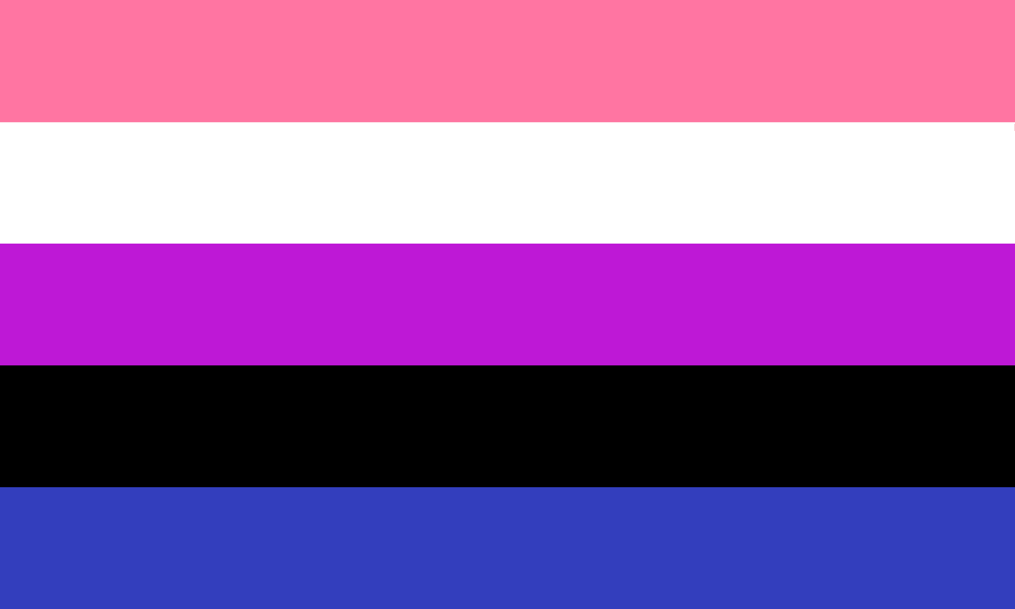 Asexual flag color meanings