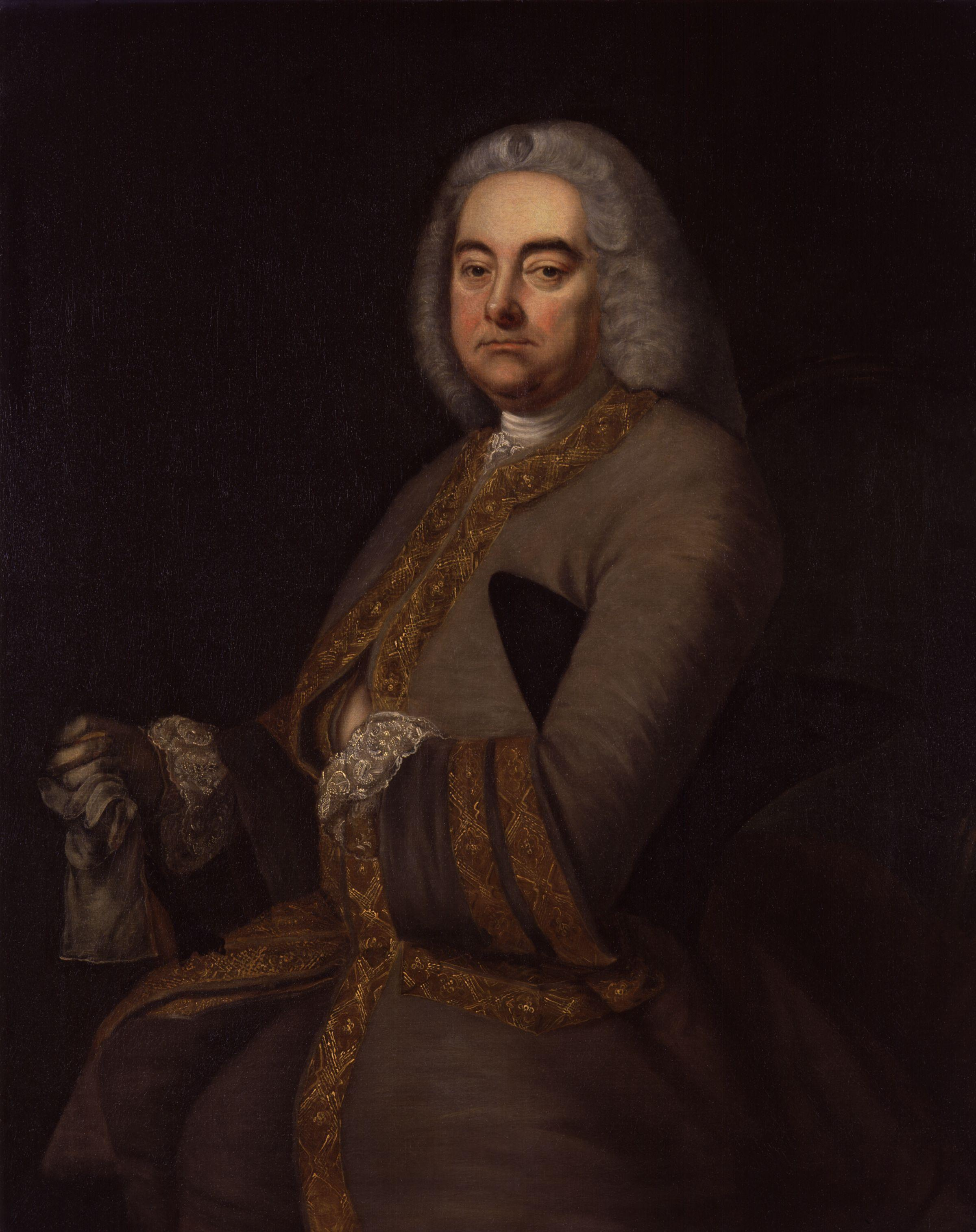 Description george frideric handel by thomas hudson