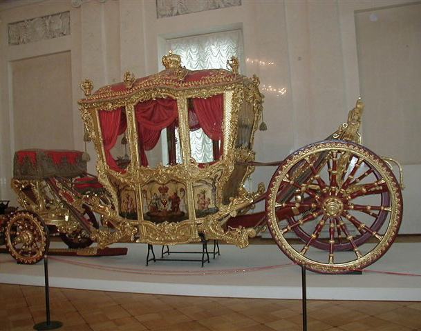 Fichier:Golden Cart Hermitage St. Petersburg 20021009.jpg