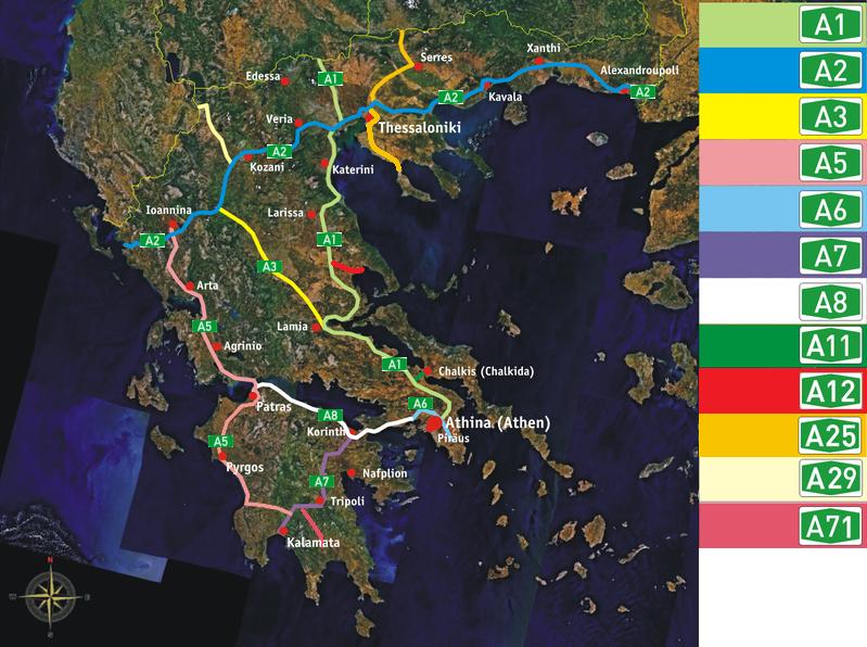 Datei:Greek motorways (Autobahnen) - mainland.png