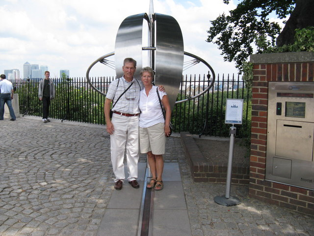 Greenwich Observatory Meridian Line Geograph Org Uk England
