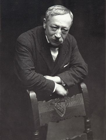 Gustave Kahn, portrait