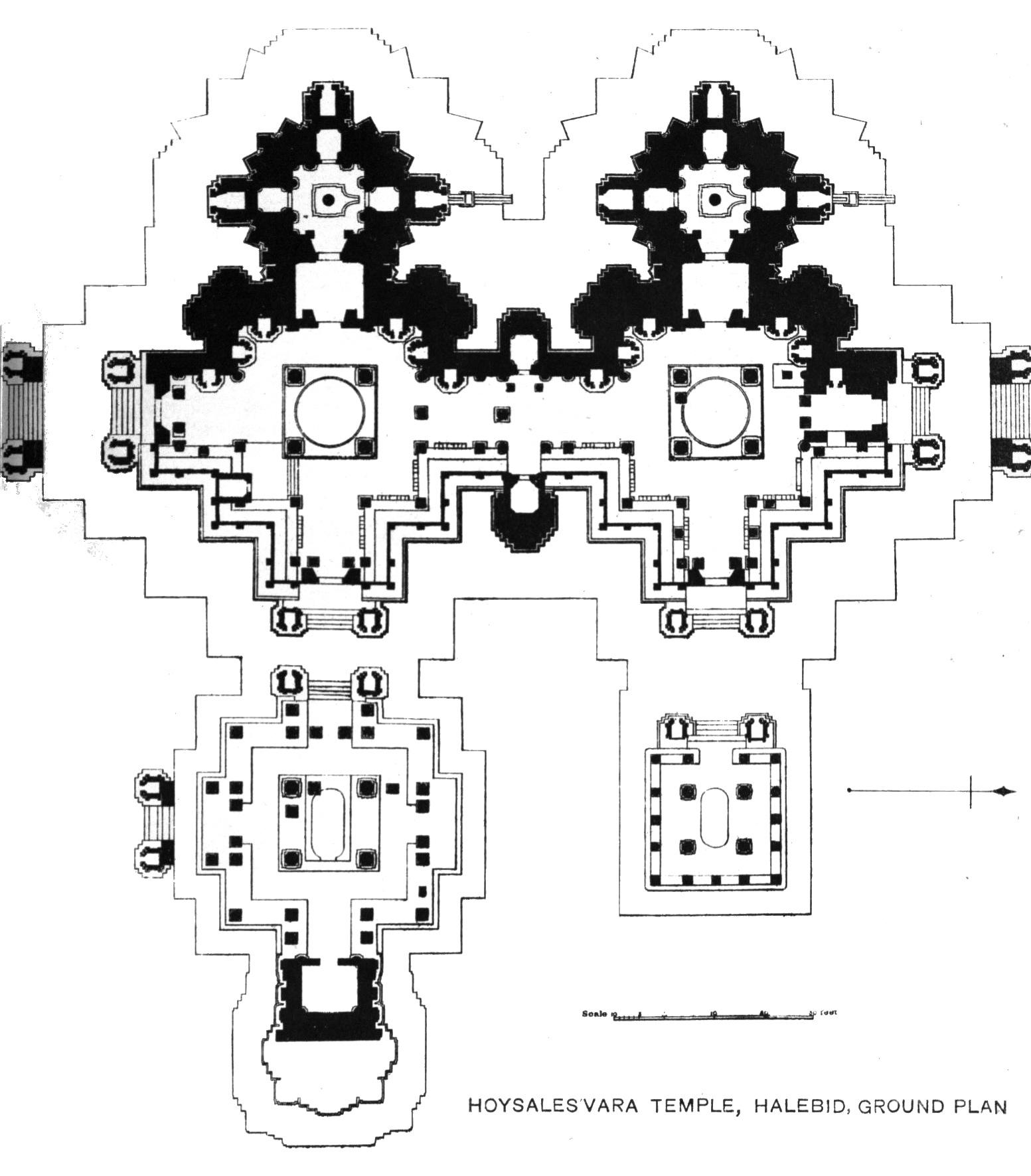 file halebid temple plan jpg wikimedia commons file halebid temple plan jpg