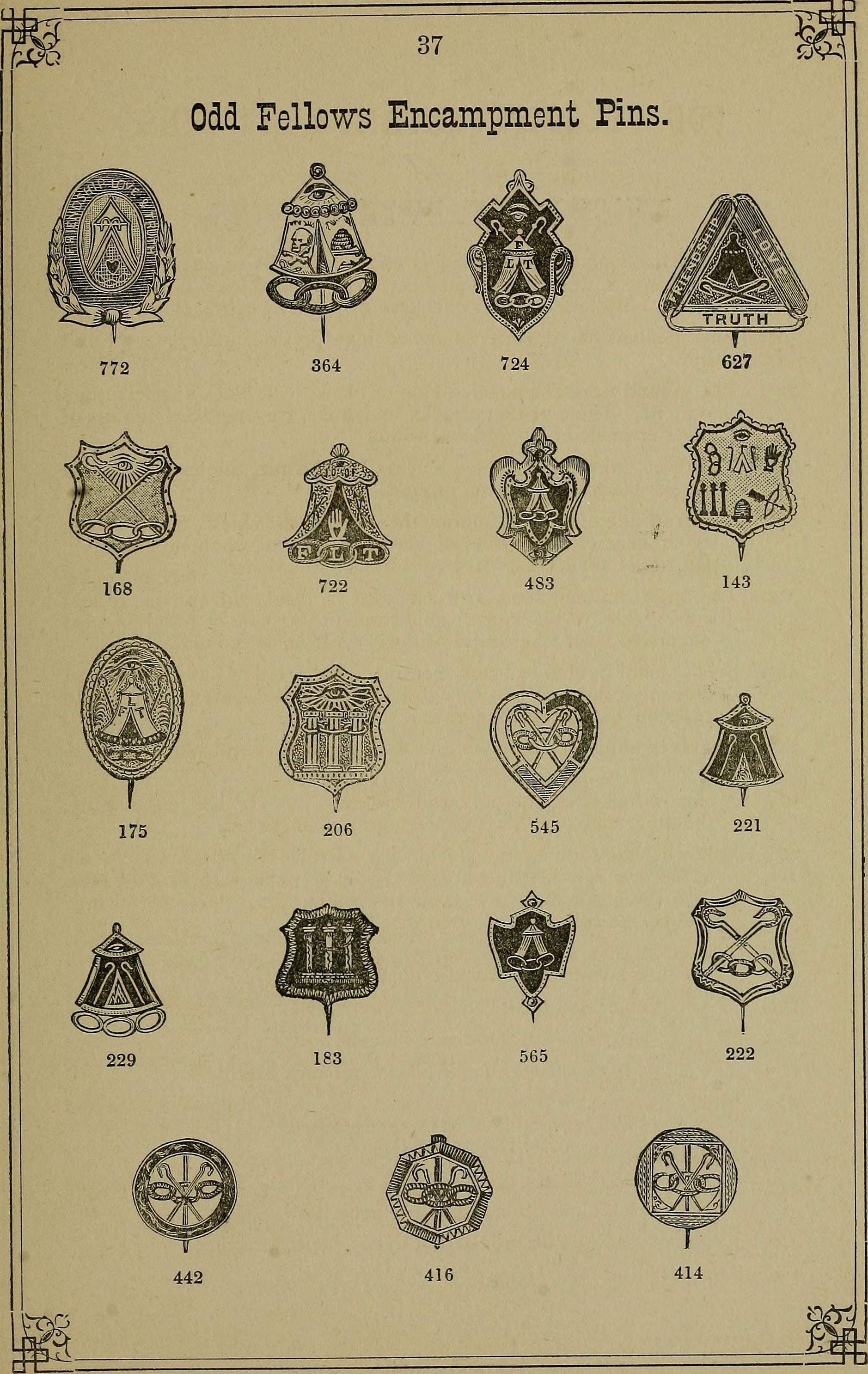 pins emblems catalogue illustrated gold wiki solid and society file of charms