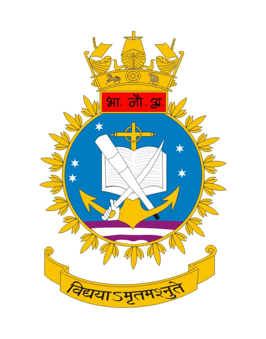 Indian Naval Academy Crest.jpg