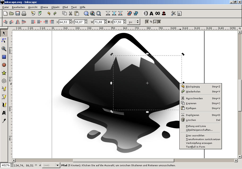 File inkscape 0 wikimedia commons Inkscape software