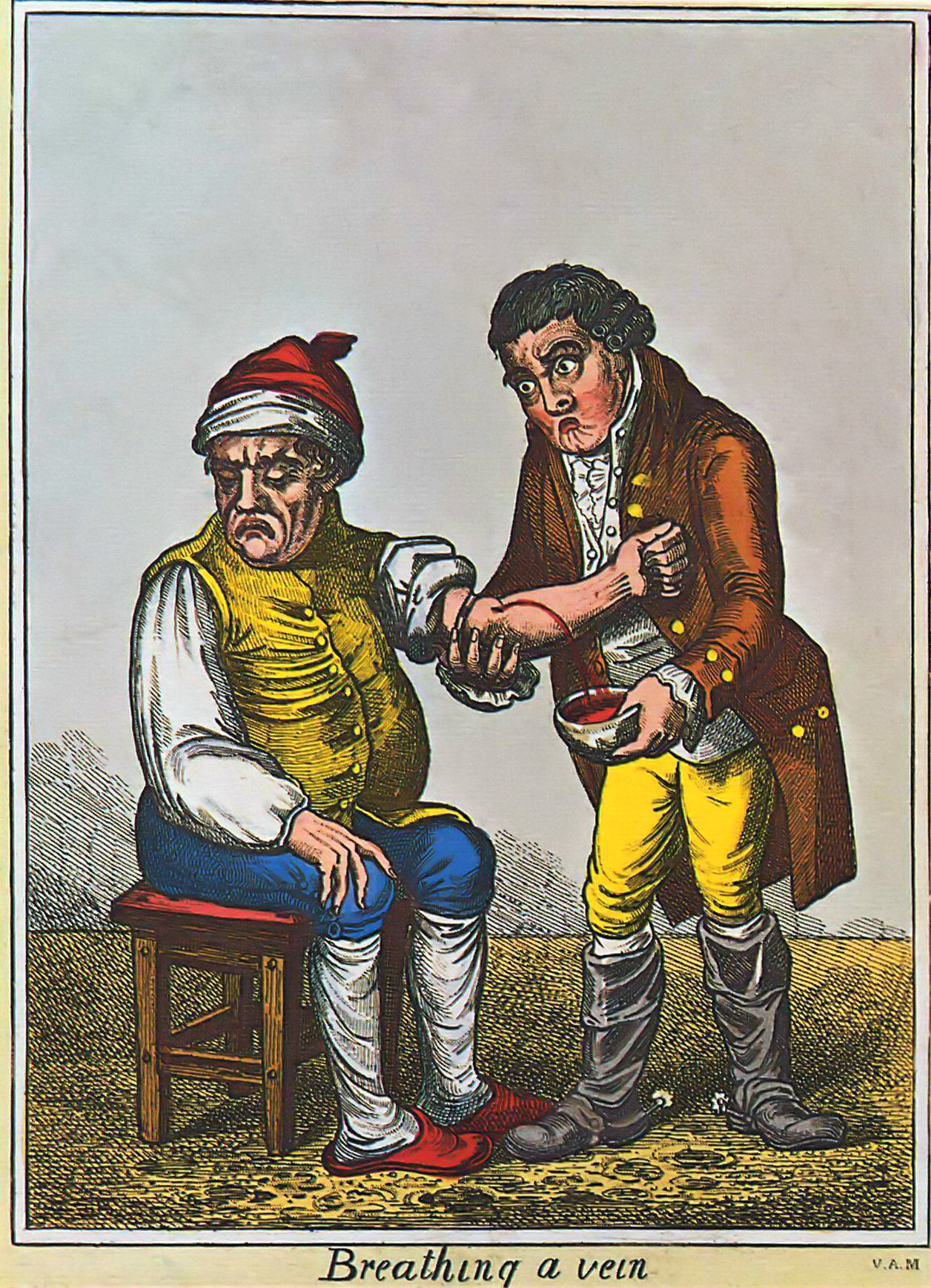 File:James Gillray - Der Aderlass (um 1805) London.jpg
