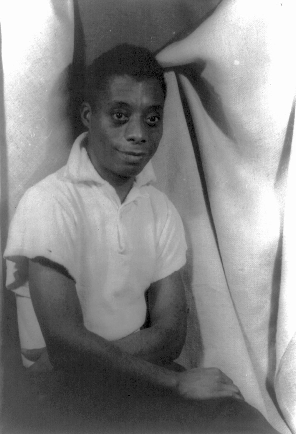 Portrait of James Baldwin
