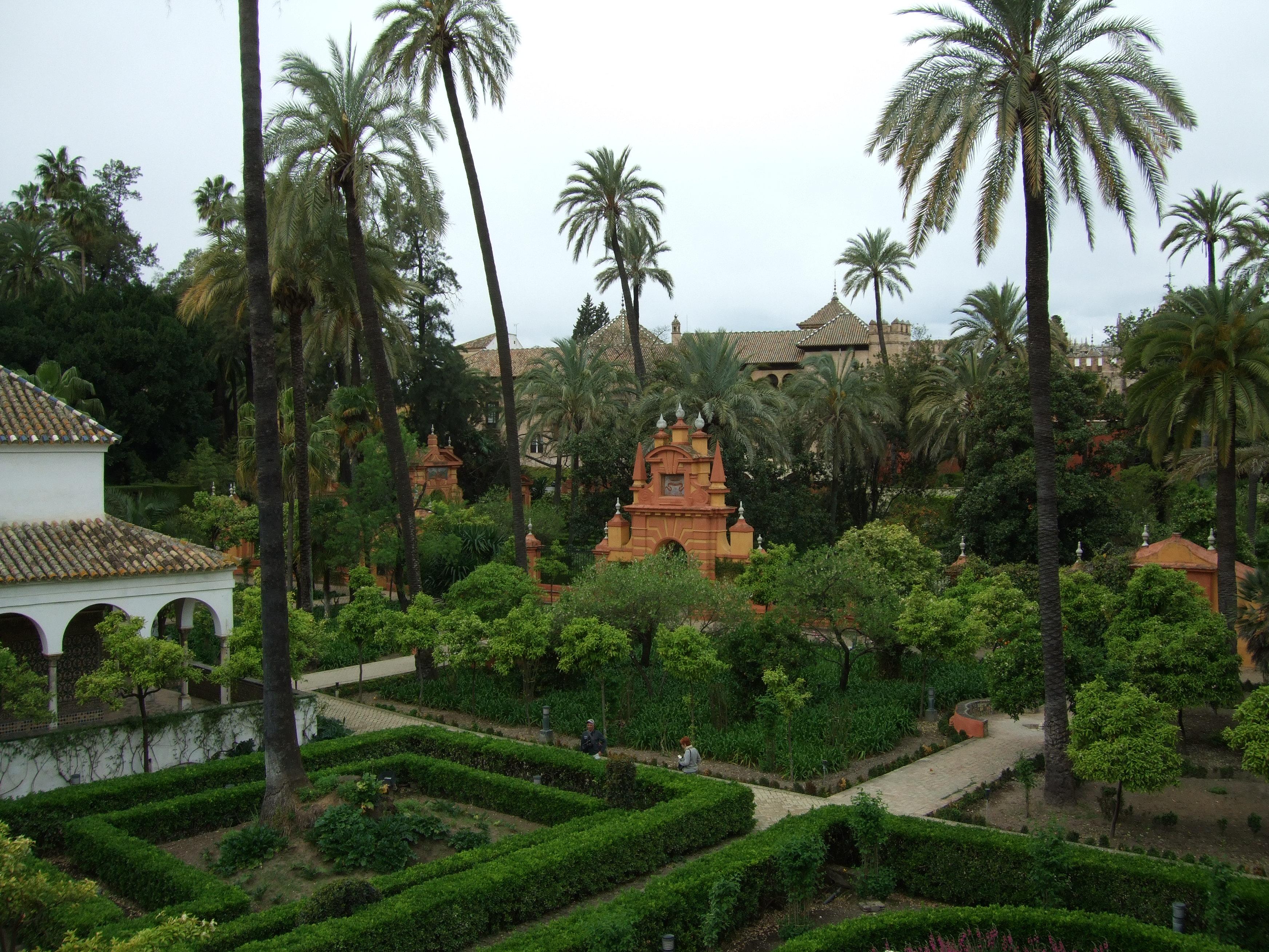 file jardines del alc zar de sevilla wikimedia commons