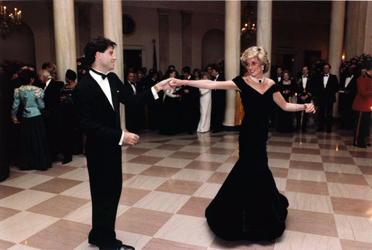 Princess Di and John Travolta