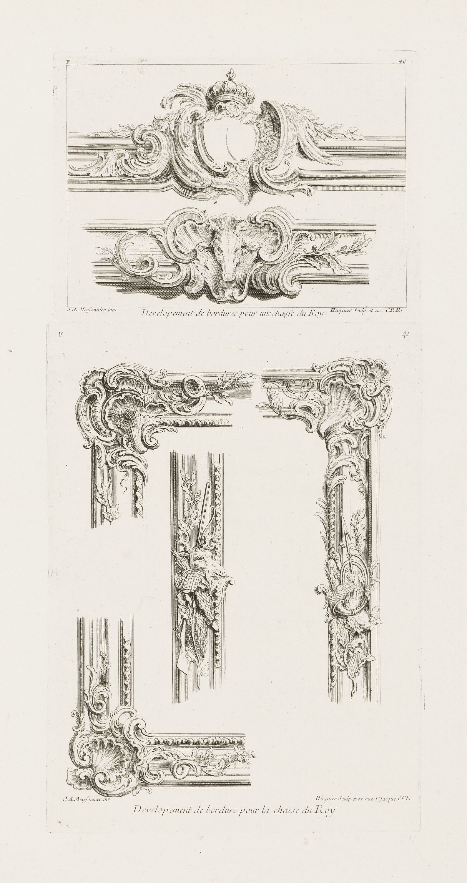 design in paper border