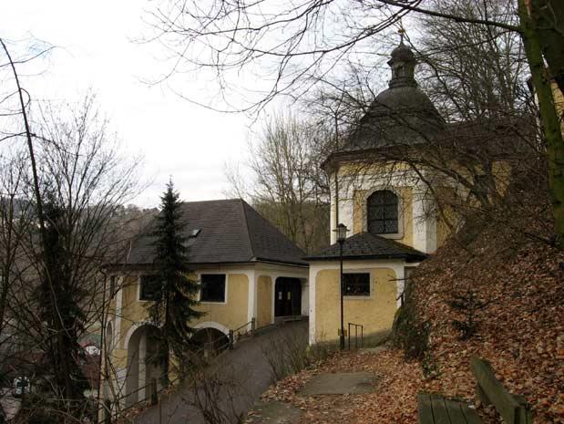 Kalvarienbergkirche St. Margarethen-Maria Thal Kapelle und Langhaus