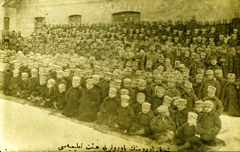 http://upload.wikimedia.org/wikipedia/commons/9/9d/Karabekir_with_orphans_in_Sarikamish.jpg