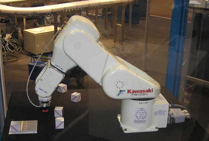 robotique industrielle � wikip233dia