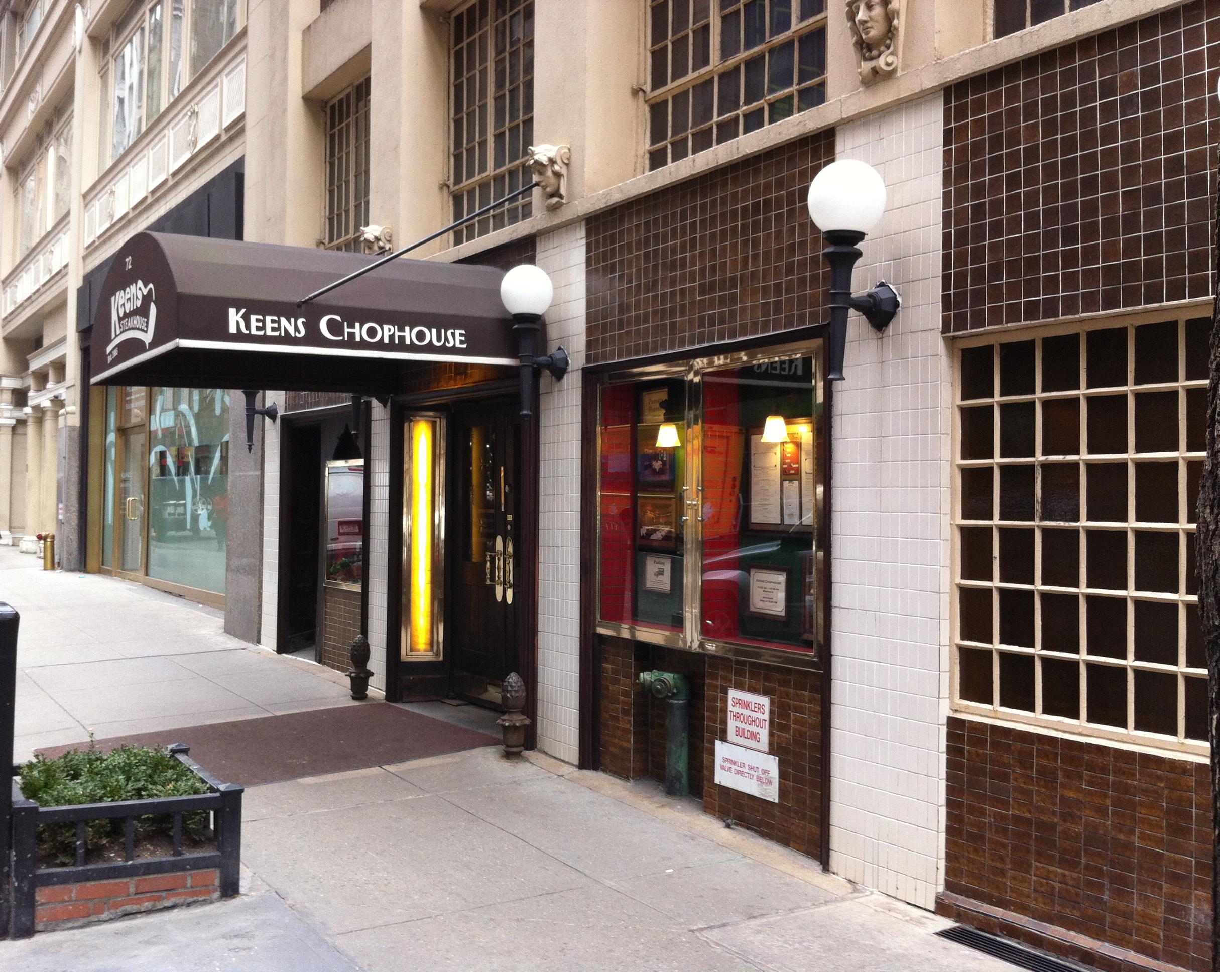 Keens Steakhouse - Wikipedia