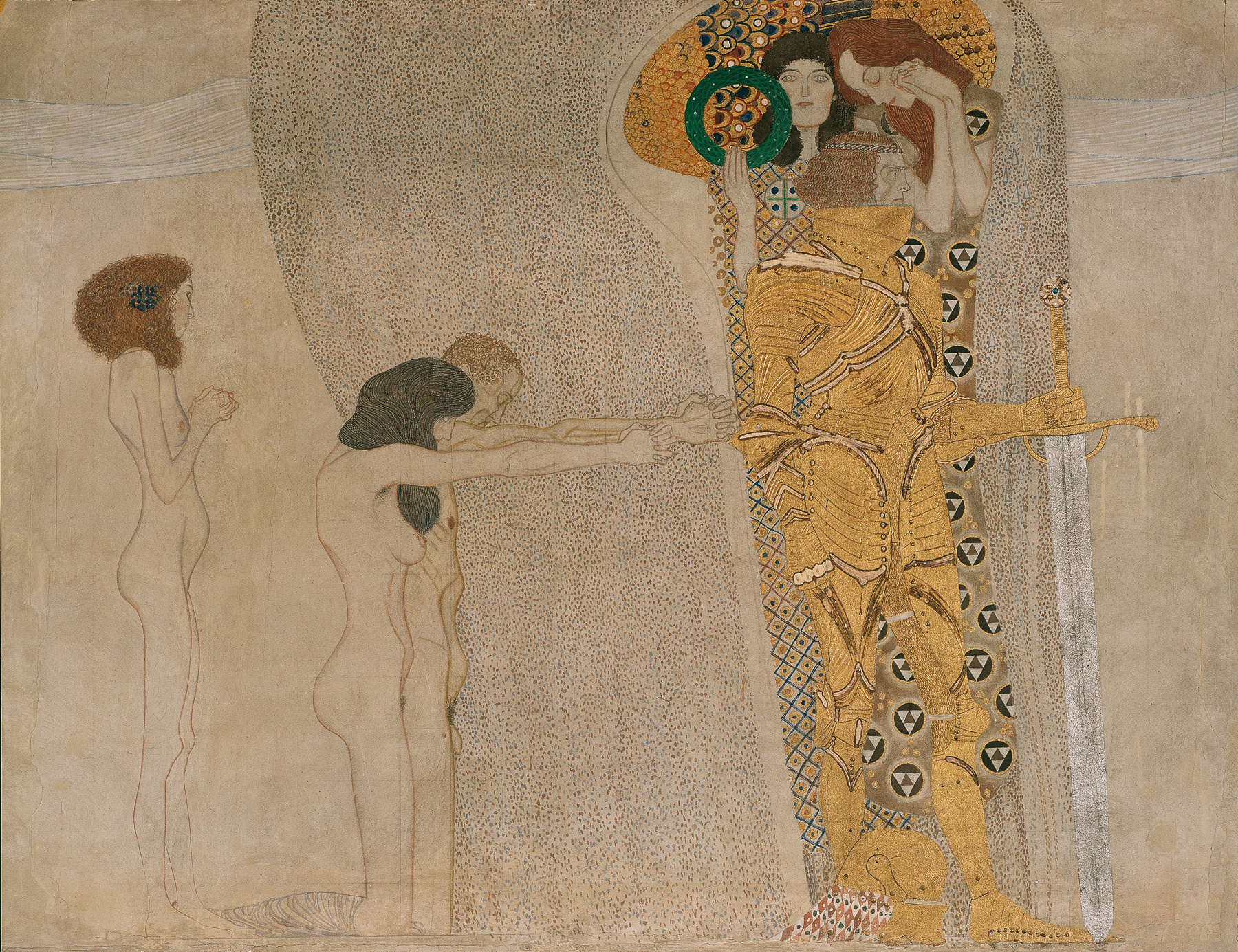 Gustav Klimt S Painting Death And Life Demonstrates Artistic Use Of