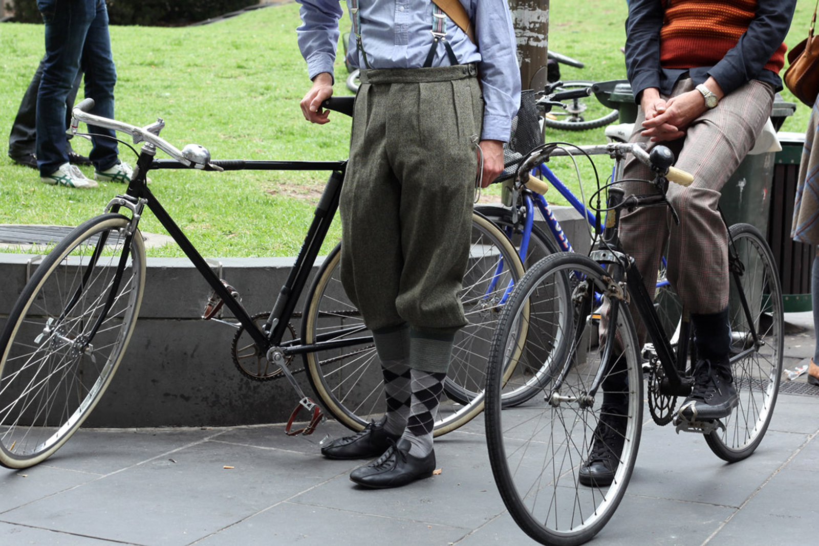 Knickerbockers for cycling The Cycle of Obesity