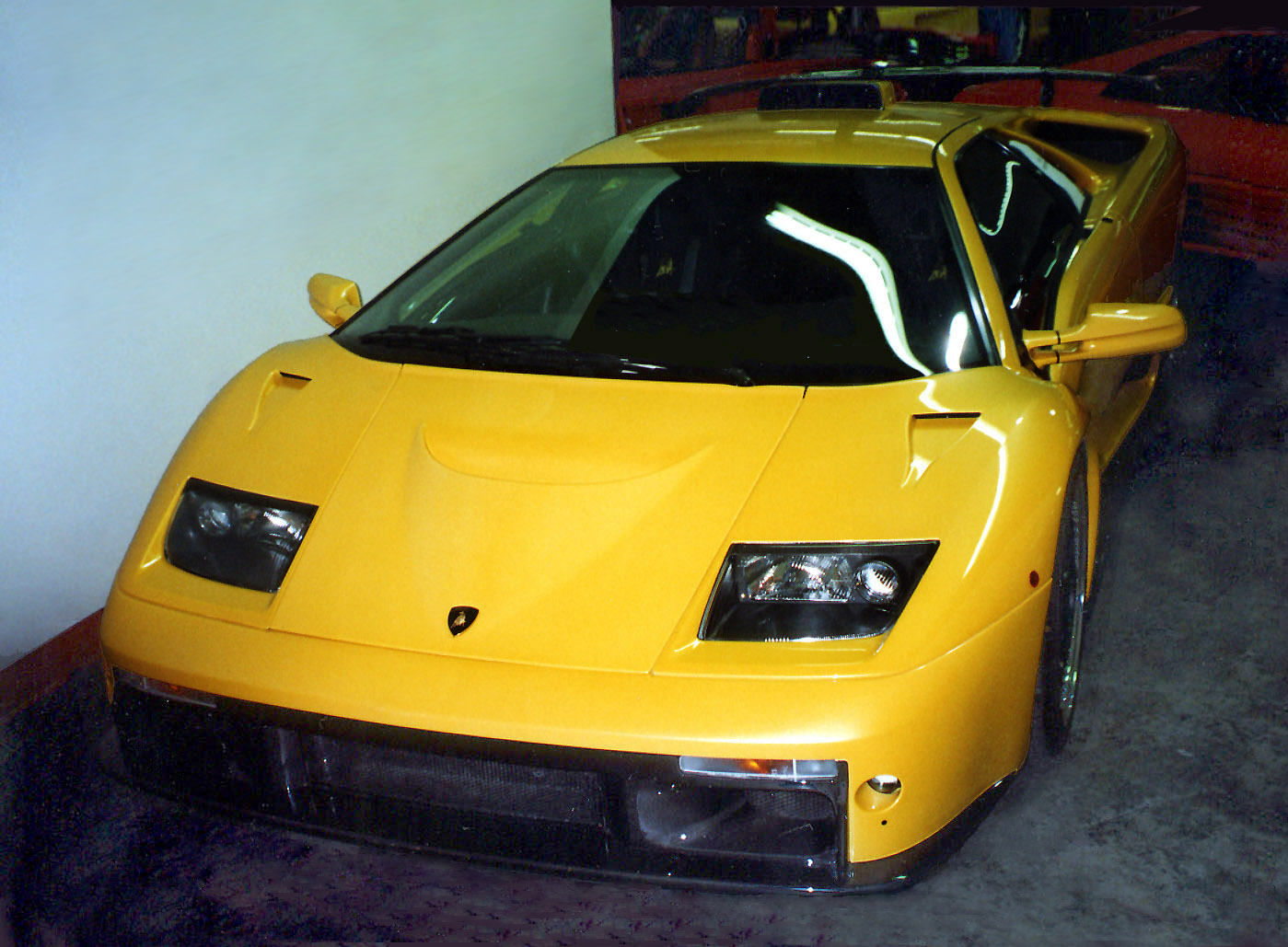 Modern Lamborghini Diablo GT High Resolution