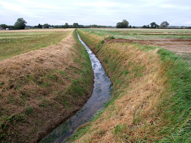 File Land Drainage East Kirkby Geograph Org Uk 559945