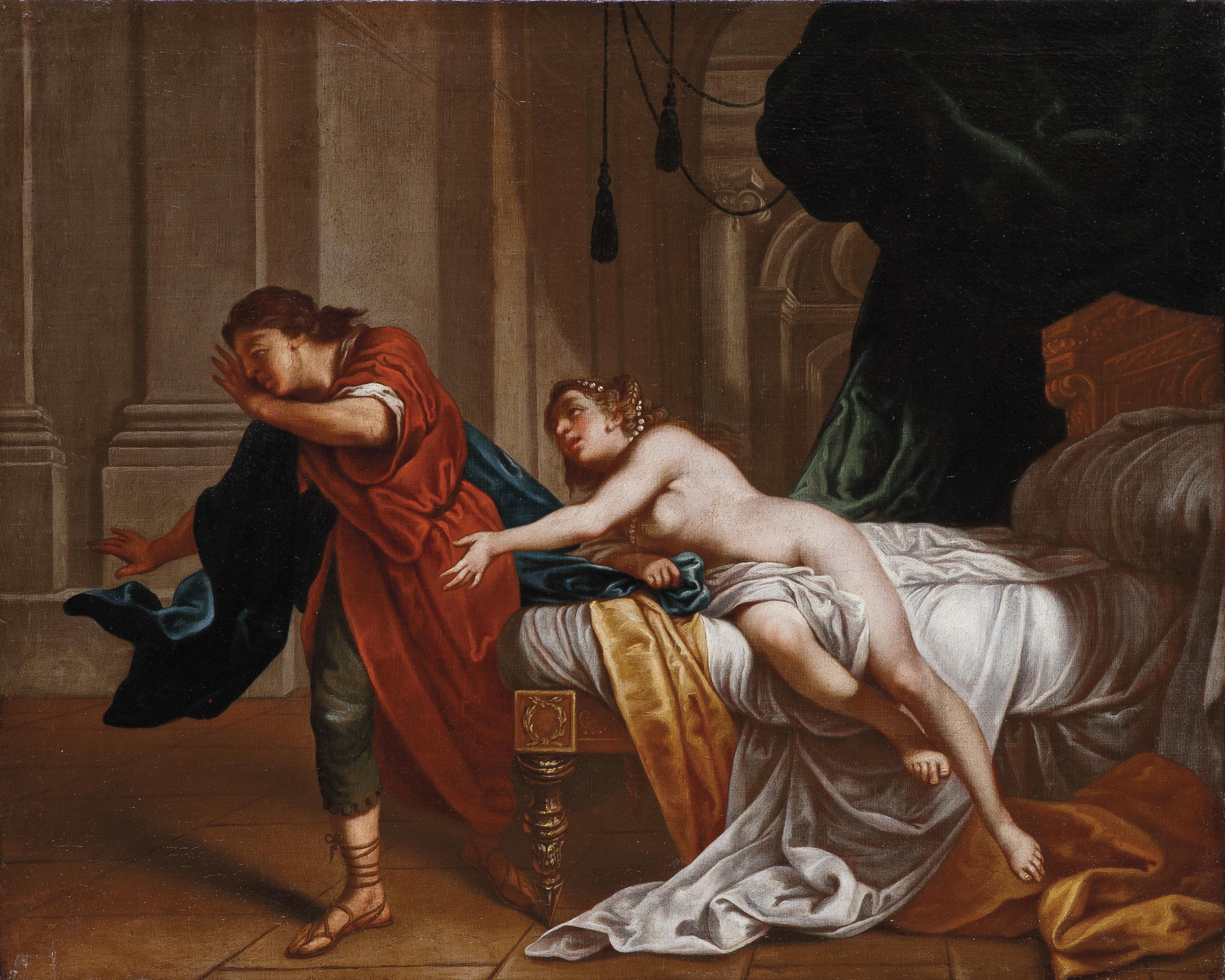 Lazzaro Baldi, Joseph and Potiphar's Wife