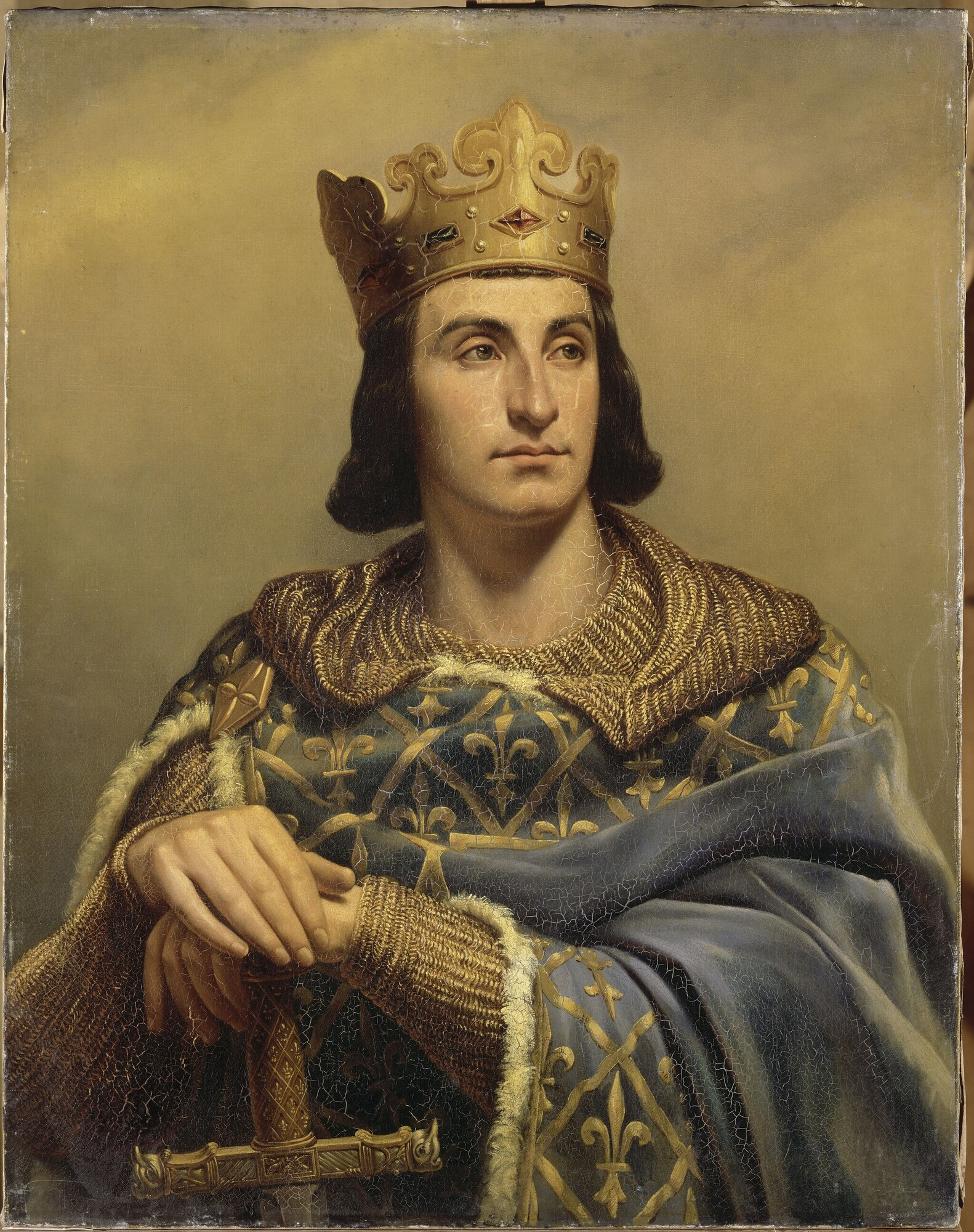 Louis-Félix Amiel-Philippe II dit Philippe-Auguste Roi de France (1165-1223)