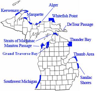 Michigan Underwater Preserves
