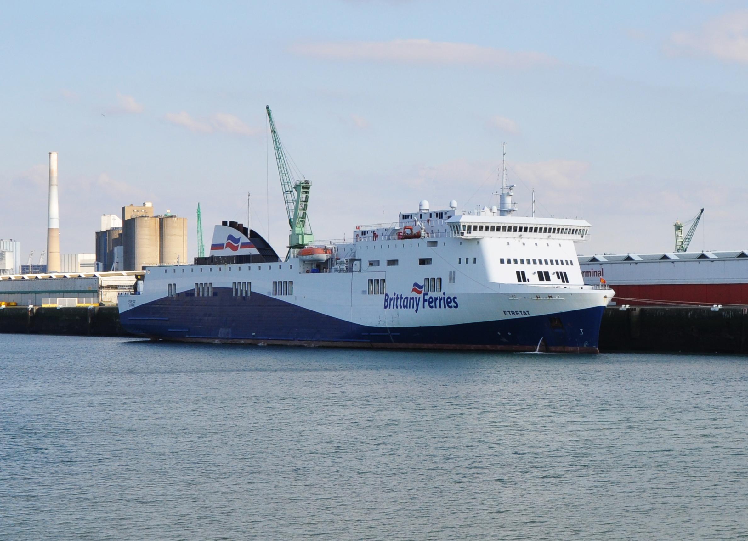 Portsmouth To Le Havre >> Mv Etretat Wikipedia
